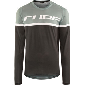 Cube Edge maglietta a maniche lunghe Uomo grigio/nero